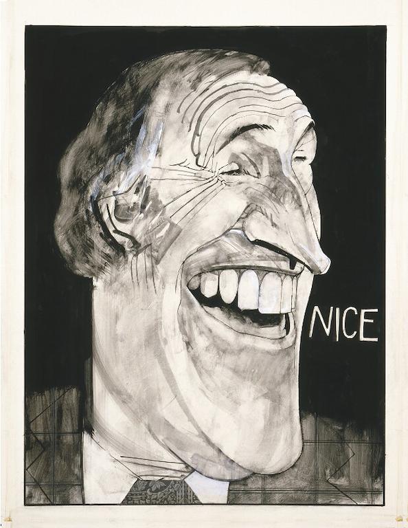 Sir Bruce Forsyth by Barry Ernest Fantoni- National Portrait Gallery-London