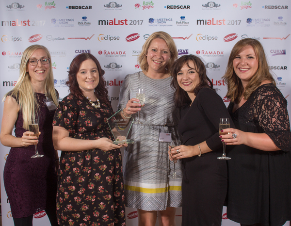 MIA LIST 2017 - INNTEL WINNERS BEST BOOKING TEAM