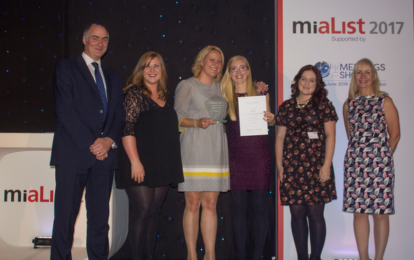 MIA LIST 2017- INNTEL ARE THE WINNER OF THE BEST BOOKING TEAM 2017